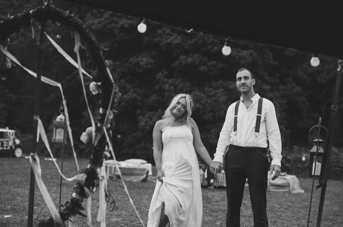 Cotswold Tipis Wild Woodland Wedding Max and Clemmie