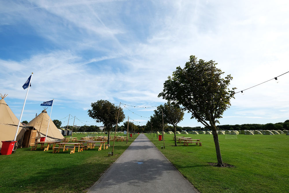 The Open Camping Village Carnoustie 2018 Giant Tipis