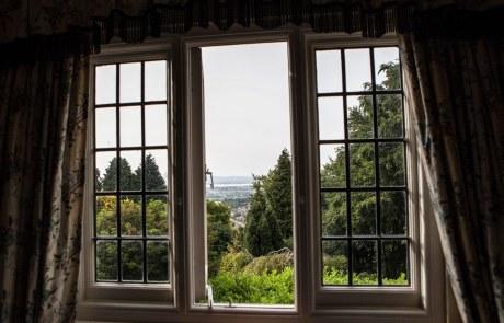 Stinchcombe Hill House window