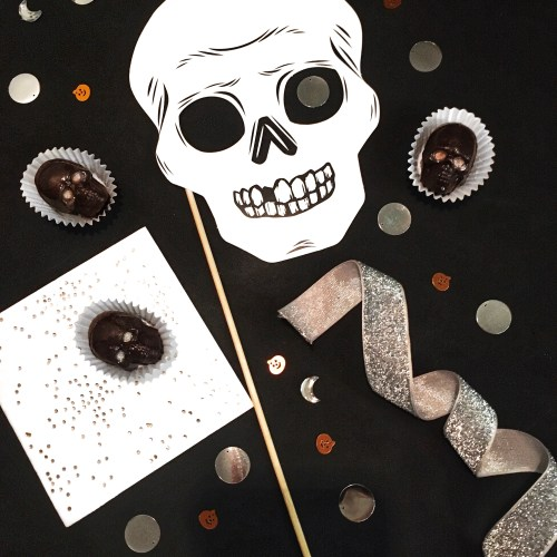 chocolate skull recipe