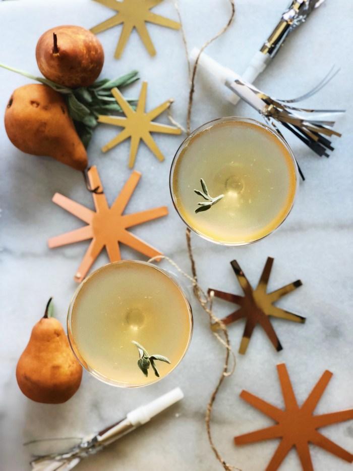 pear champagne