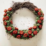 diy tutorial for a pumpkin wreath