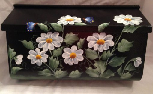 daisies-wall-mount-mailbox