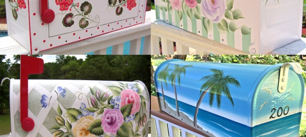 hand painted mailboxes 4 decorative hand painted mailboxes