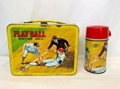 vintage baseball lunchbox