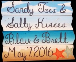 sandy toes salty kisses sign