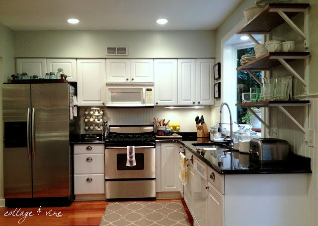 Kitchen Soffit Solutions Cottage And Vine