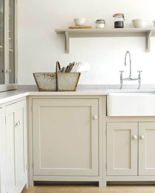 Tan Kitchen Cabinets Cottage And Vine