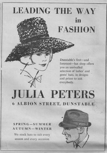 Julia Peters Hat Shop, Albion Street