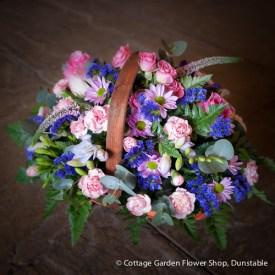 Pink & Blue Basket