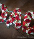 Dad Tribute In Red & White