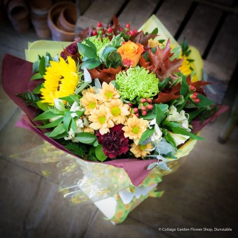 Autumn Hand Tied