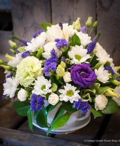 Blue & White Teacup Arrangement