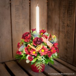 Candle Vase Arrangement