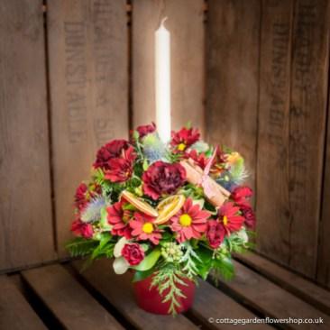 Candle Vase Arrangement