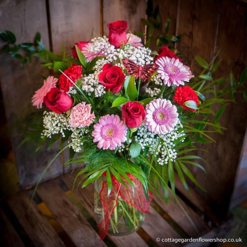 Luxury Valentine's Vase