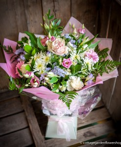 Pink & White Luxury Hand Tied