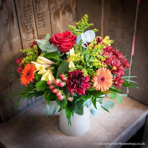 Autumn Glow Vase