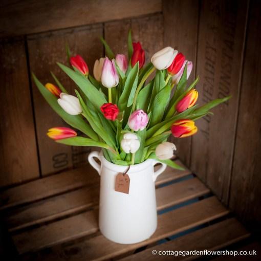 Spring Tulip Vase