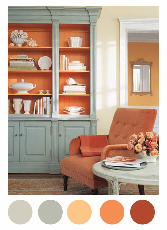 Coral Seafoam Green Rooms To Love Distinctive Cottage