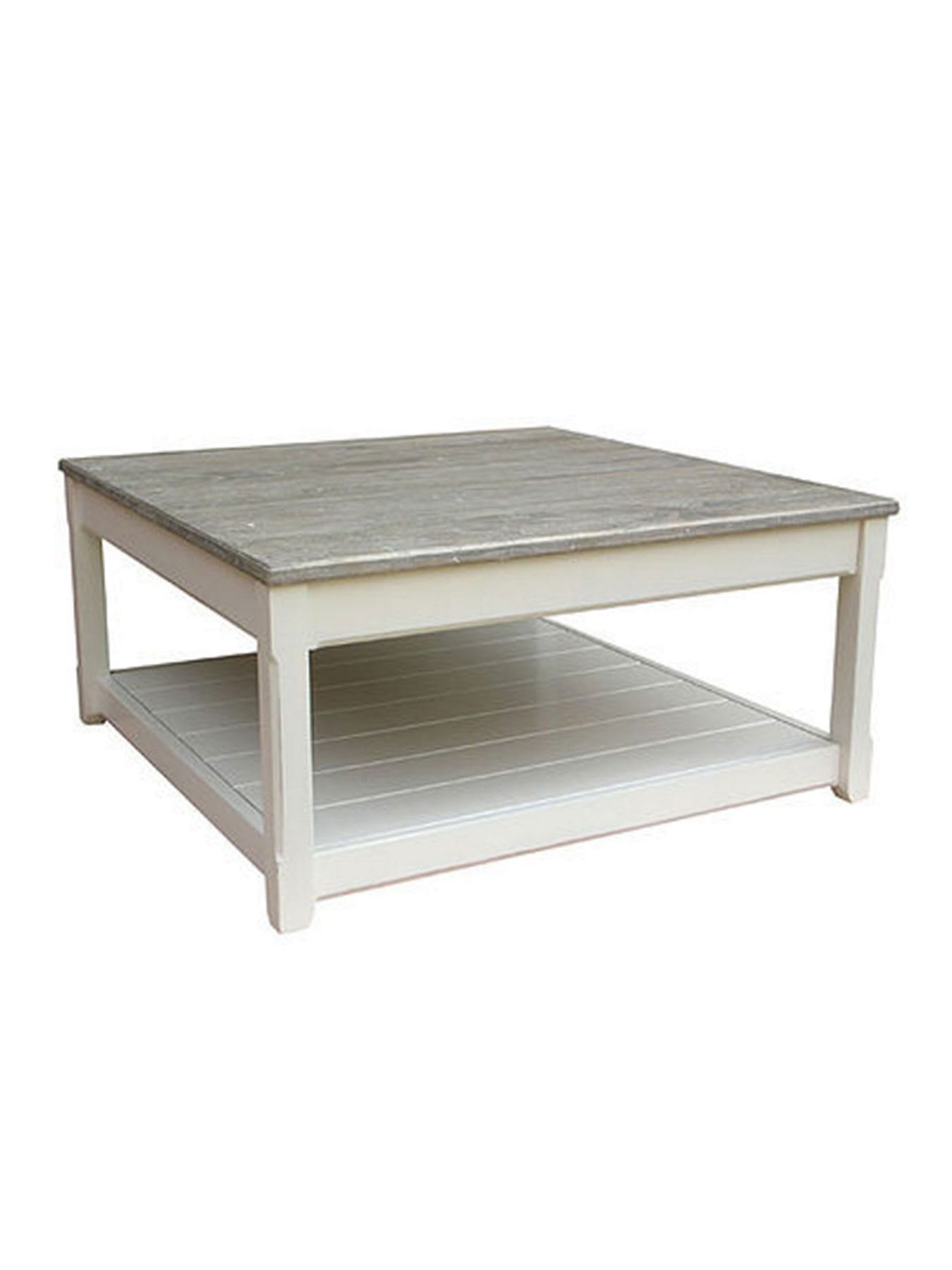 dominica plank square coffee table
