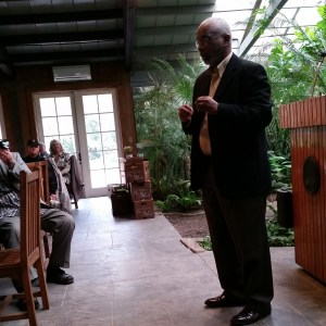 Herb Frazier, Marketing/Public Relations Manager Magnolia Plantations and Gardens