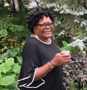 Teresa Speight in a Garden