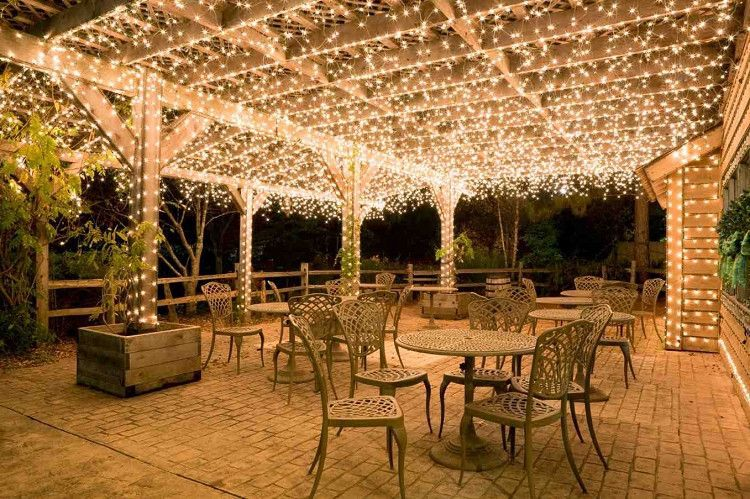 10 Ways Fairy Lights Can Turn Your Yard Into An Enchanted