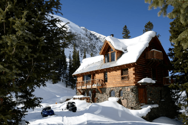This Remote Mountain Cabin Was Made For Family Ski Vacations Cottage Life