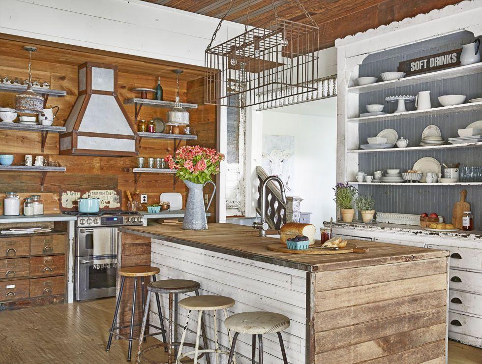 These 15 farmhouse kitchens will inspire your next reno ... on Rustic Farmhouse Kitchen Ideas  id=18496