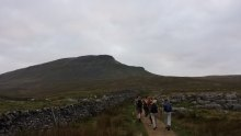 Approach to Pen-y-ghent