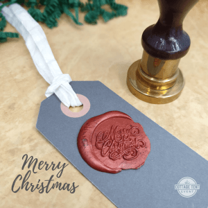 Wax Seal - merry christmas