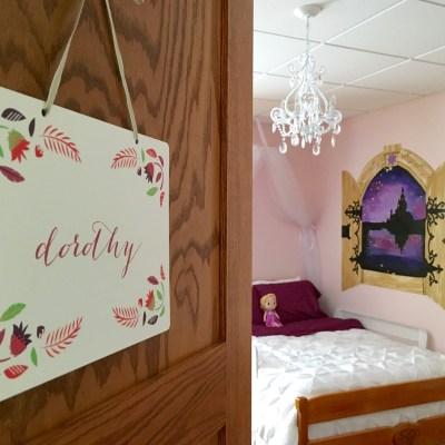 Rapunzel's Tower | Dorothy's Big Girl Room