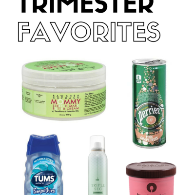 Third Trimester Favorites | Friday 5