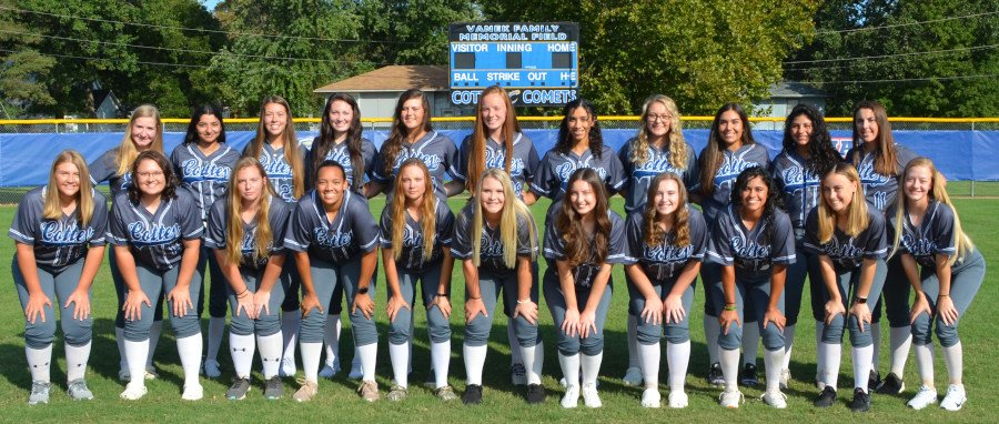 Cottey 2018-19 Softball Team