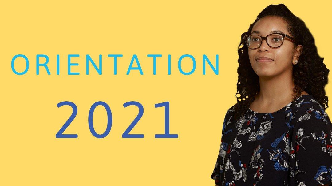 Logo for Orientation 2021