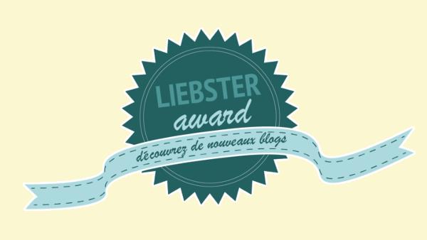 TAG : Liebster Award 1