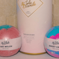 "My Jolie candle : boules de bain ""Happy moments"""