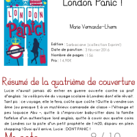 London Panic ! - Marie Vermande-Lherm