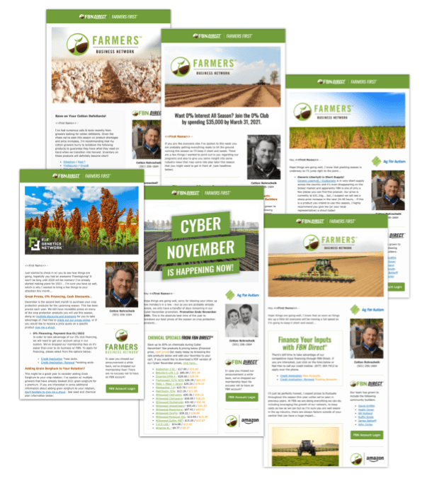 The Cotton Club is a monthly email newsletter from Cotton Rohrscheib. Each edition contains content w/ an emphasis on agriculture and crop protection industry information.