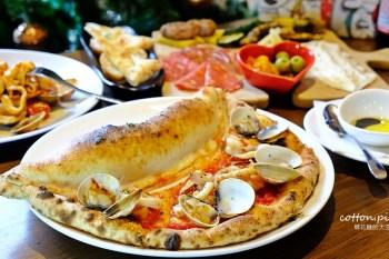 台中黎明新村暗藏道地義大利風味,必點角度義棧招牌手工披薩~連義大利麵都是自製