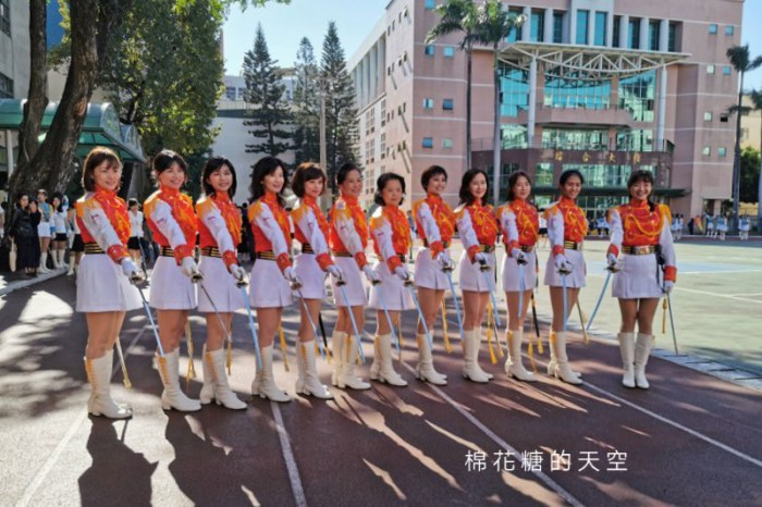 台中女中百年校慶就是這週末!超過300位儀隊隊員回娘家演出~