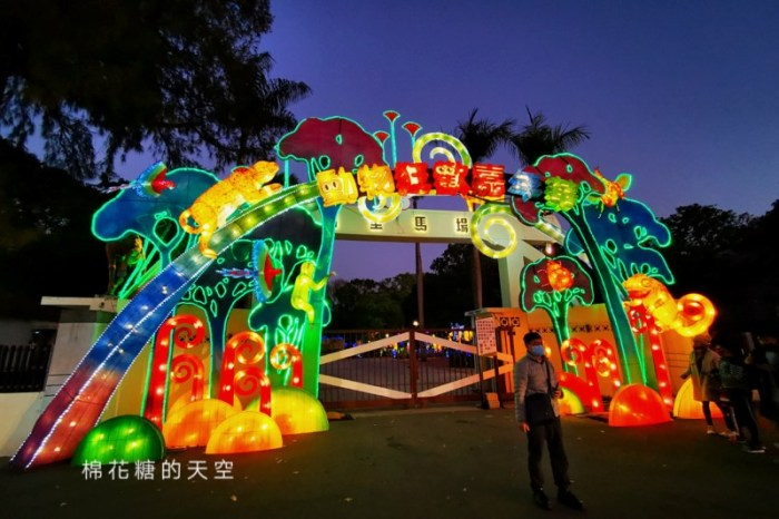 台灣燈會在台中~后里燈區位置圖、四大主燈副燈搶先看