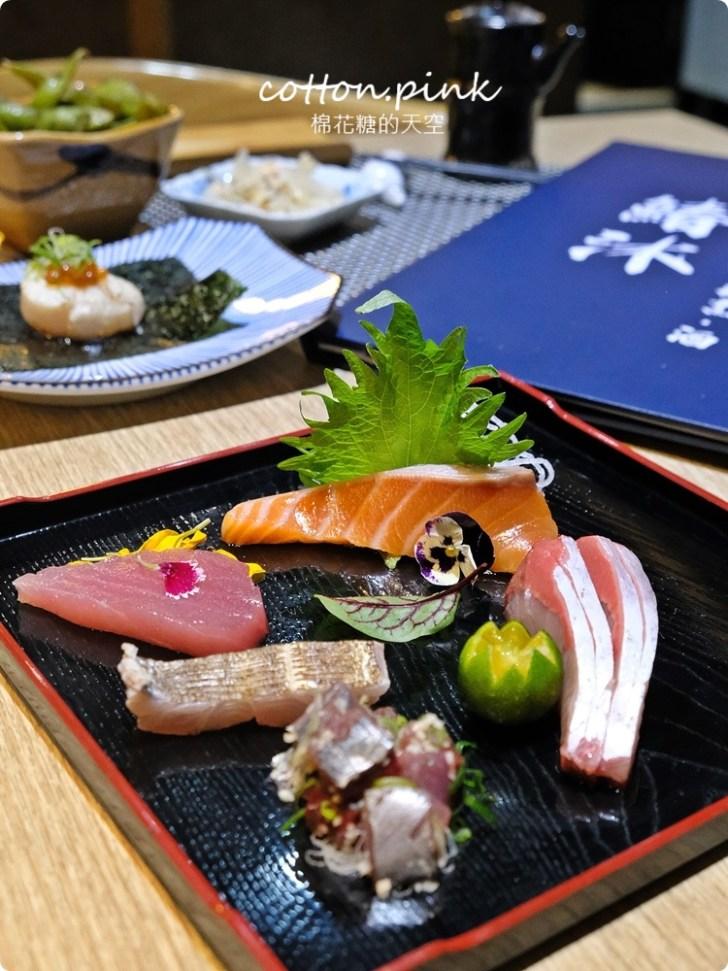 20210318082310 2 - 熱血採訪│免改名當月壽星就送特製鮭魚蛋糕!台中最新日式無菜單料理「鰆沐 割烹、酒」超澎湃