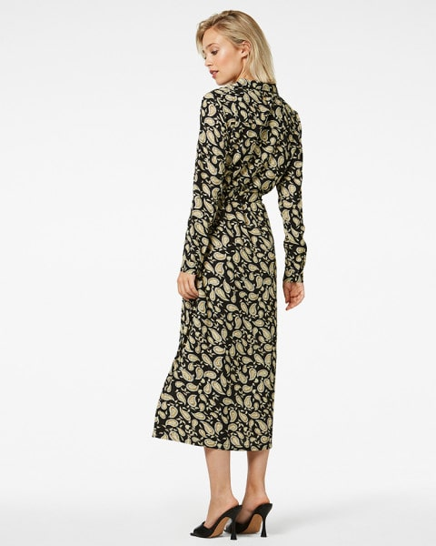 Freebird - Midi dress Vikas long sleeve