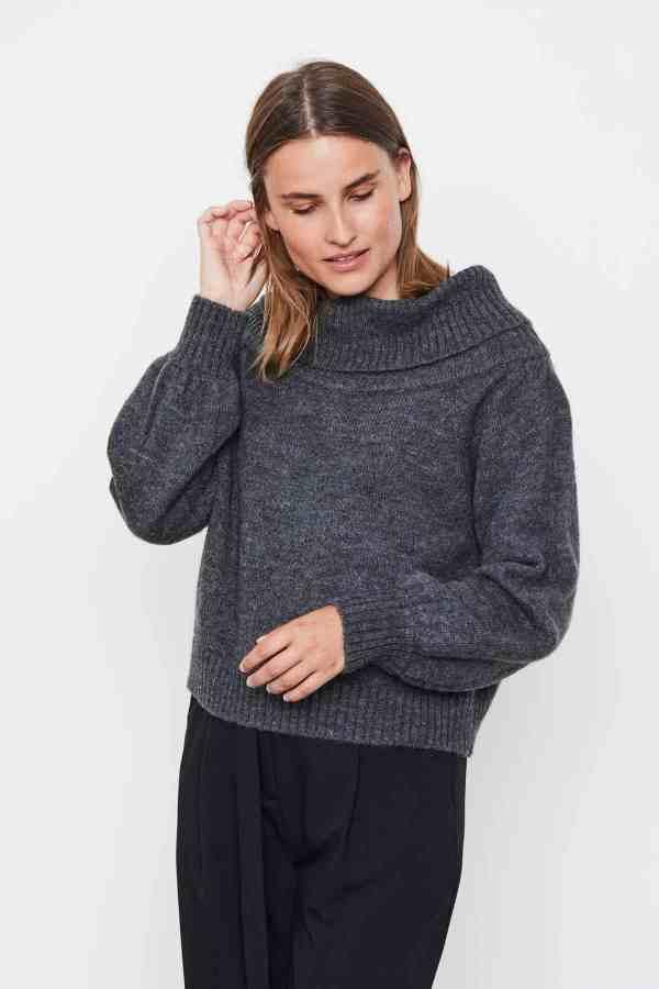 Soft Rebels - Louisa off-shoulder knit SR521-217 (2)
