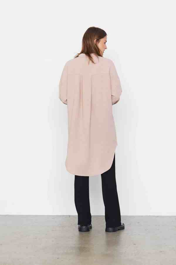 Soft Rebels - Siv long shirt SR521-743(3)