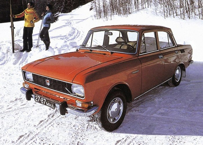 Moskvich-412 from Izhevsk, Russia