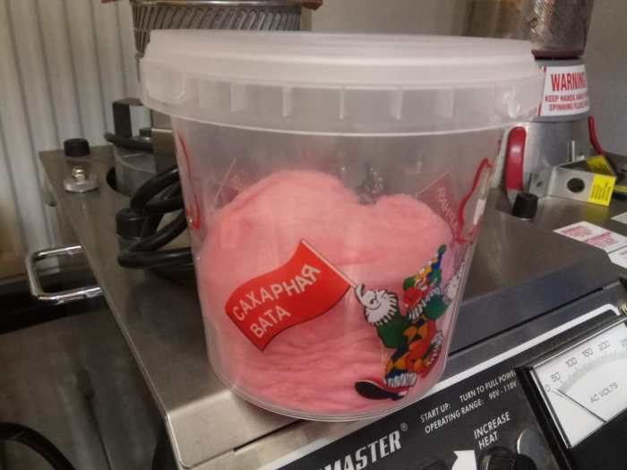 Does cotton candy melt in the heat?