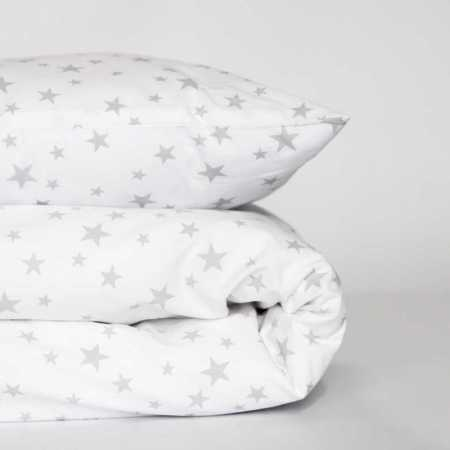 Cot duvet cover set - star design